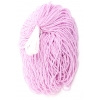 Seedbead Opaque Dyed Pearl Mauve 10/0 Strung